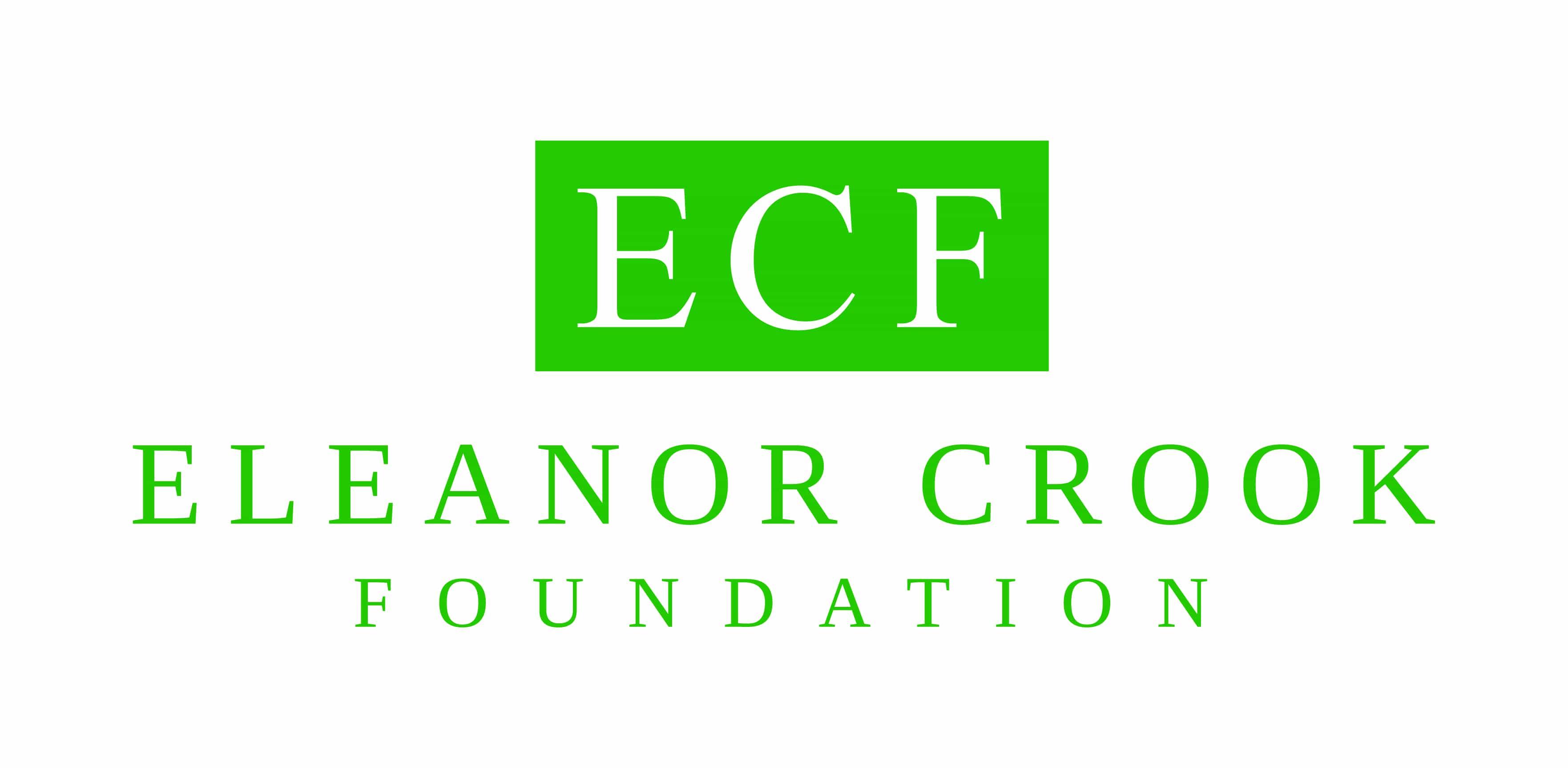 Eleanor Crook Foundation logo