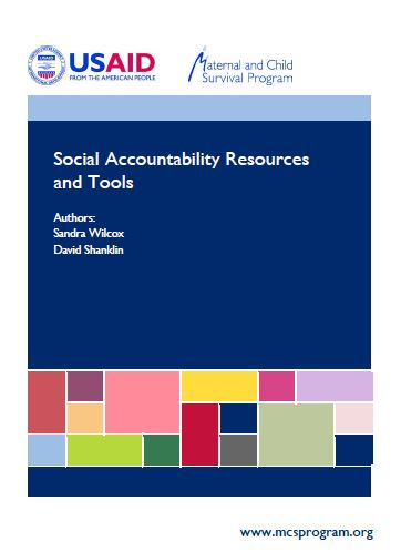Social Acct Tools and Resources