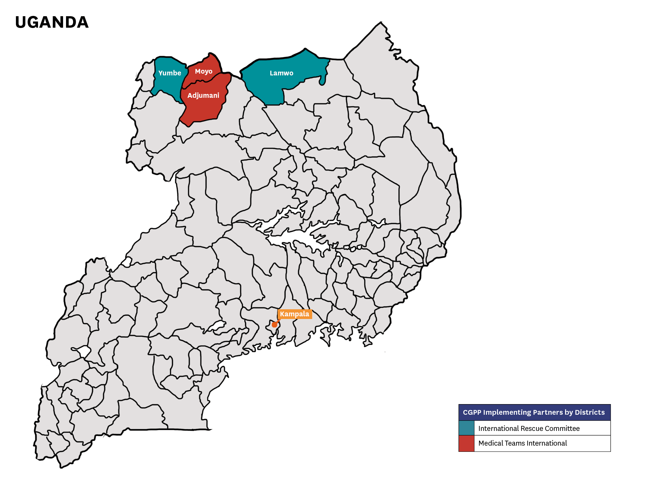 CGPP Uganda Map