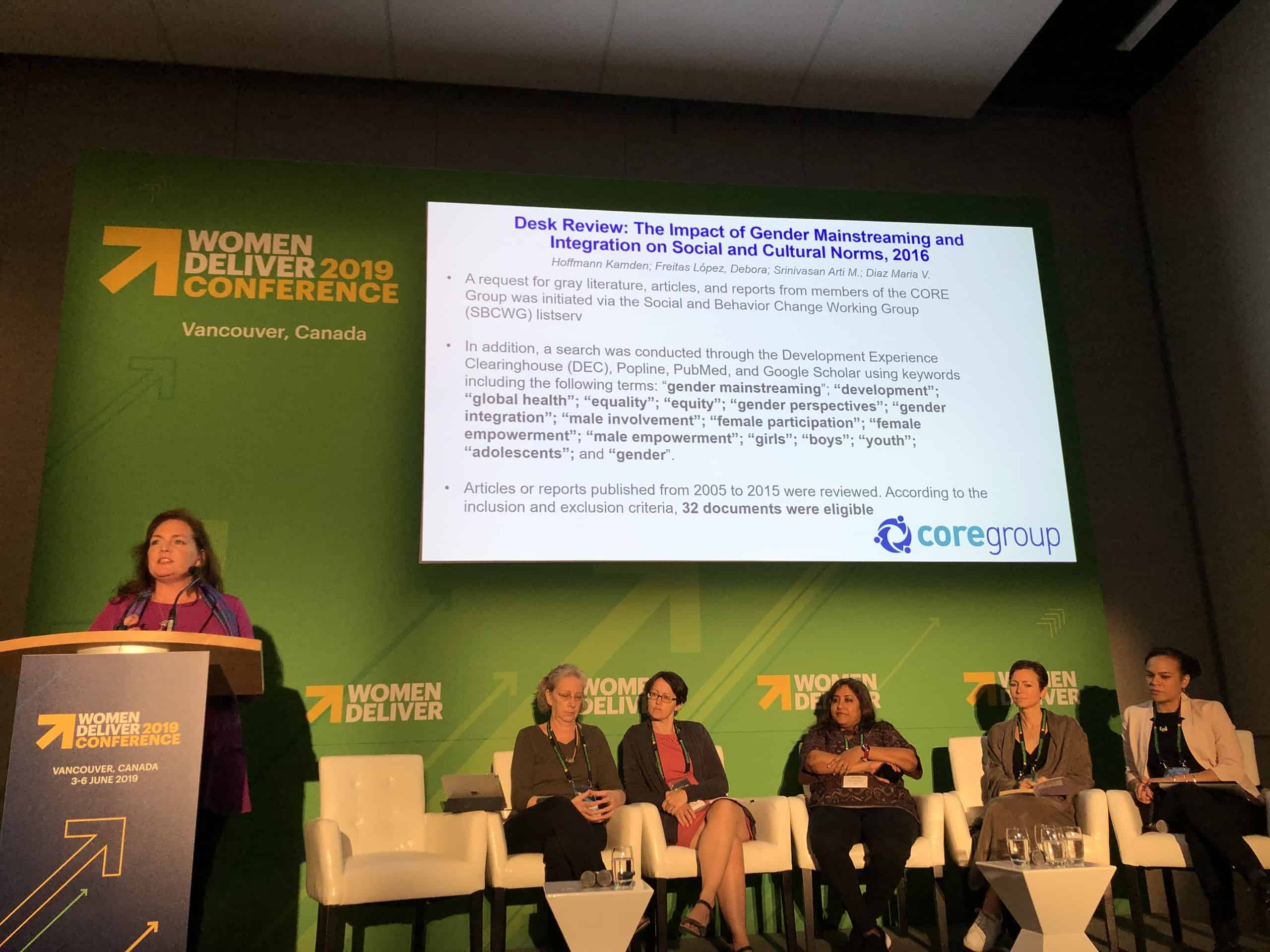 Lisa Hilmi speaking at WD2019